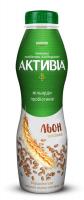 Біфідойогурт Danone Активіа Насіння льону-висівки 1,5% 550г