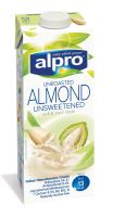 Напій Alpro з несмаженого мигдалю 1л х12