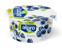 Йогурт Alpro соєвий з чорницею ст 150г Бельгія х6