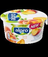 Йогурт Alpro соєвий з персиком ст 150г Бельгія х6