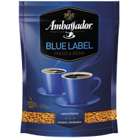 Кава Ambassador Blue Label натуральна розчинна 205г