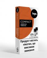 Картридж Logic Compact American Tobacco 1.5% 2*1.7мл