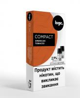 Картридж Logic Compact American Tobacco 2.9% 2*1.7мл