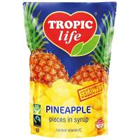 Ананас Tropic Life шматочками в сиропі 430г