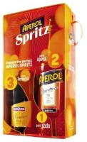 Набір №14 Aperol Aperitivo 11% 1л + Вино ігристе Cinzano Prosecco біле сухе 11% 0.75л