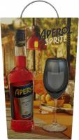 Аперитив Aperol Spritz 11% 1л +стакан
