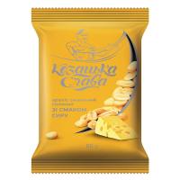 Арахіс смажений солоний зі смаком сиру ТМ Козацька Слава 60г