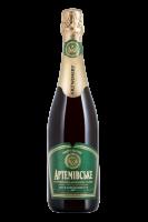 Вино ігристе Артемівське біле мускатне напівсухе 10-13,5% 0.75л