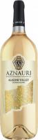 Вино Aznauri Алазанська долина напівсолодке біле 1,5л