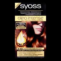 Фарба для волосся Syoss Oleo Intense 6-80 золотистий русявий