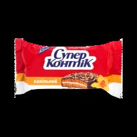 Печиво Конті Супер-Контік ванільний молочний 100г