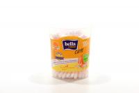 Ватні палички Bella Cotton Care Д-пантенол та екстракт апельсину, 100 шт.