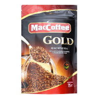 Кава MacCoffee Gold розчинна 75г х12