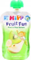 Пюре Hipp груша-банан-ківі 90г х15