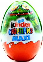 Яйце шоколадне Kinder Сюрприз Maxi з іграшкою 100г
