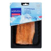 Горбуша Norven г/к з перцем 300г х12