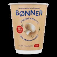 Крем-суп Boner гороховий з грибами 50г стакан х32
