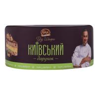 Торт БКК Київський дарунок з фундуком від шефа 450г