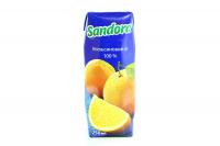 Сік Сандора Апельсиновий 250мл х12