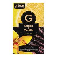 Чай g`tea Gourmet Lemon&Vanilla зел. 20*1,75г 35г