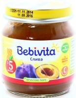 Пюре Bebivita слива с/б 100г х6