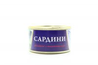 Сардина Fish Line обсмажені в томатному соусі ж/б 240г