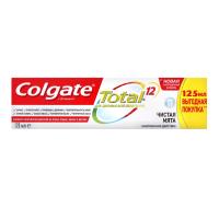 """Зубна паста Colgate Total 12 """"Чиста М'ята"""", 125 мл"""