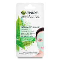 Маска для обличчя Garneir Skin Active Matcha+Kaolin 8мл