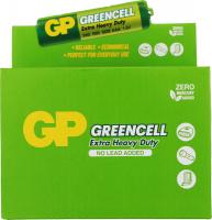 Батарейка GP GREENCELL 1,5V сольова, 24G-U4, R03 блістер