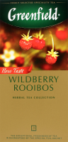 Чай Greenfield Wildberry Rooibos 25пак*1.5г