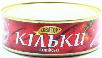 Кільки Екватор балтійські обсмаж. у томат. соусі 240г