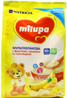 Каша Milupa Nutricia молочна суха мультизлакова 210г х9