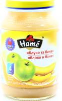 Пюре Hame яблуко-банан 190г х10