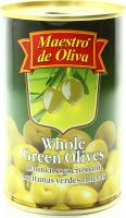 Оливки Маэстро дэ Олива зелені з/к 300г