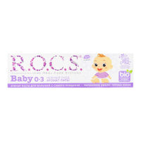 "Зубна паста дитяча R.O.C.S. Baby 0-3 ""Аромат Липи"", 45 г"