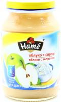 Пюре Hame яблуко із сиром 190г х10