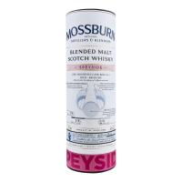 Віскі Mossburn Blended Malt Speyside 46% 0,7л (тубус) x2