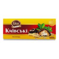 Тістечка БКК Київські з насінням соняшника 200г х6