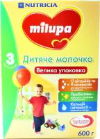 Суміш Milupa дитяча молочна 3 6-12м 600г х24