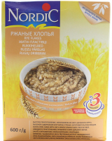 Пластівці Nordic житні 600г