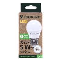 Лампа Enerlight LED E27 5Вт G45 4100К х6
