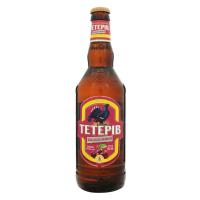 Пиво Перша Приватна Броварня Тетерів Хмільна вишня напівтемне фільтроване 8% 0,5л с/б