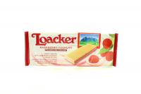 Вафлі Loacker з малиново-йогуртовою начинкою 150г х18