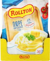Пюре Rollton картопляне зі смаком вершків 40г х24