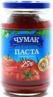 Паста томатна Чумак 25% 350г ск/б