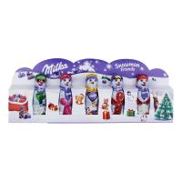 Шоколад Milka Сніговик молочний 5 шт 75г