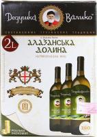 Вино Дідусь Валіко Алазанская Долина біле напівсолодке 2л х6