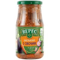 Баклажани Верес смажені з овочами с/б 500г