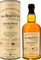 Віскі Balvenie Double Wood 12р 40% 0,7л тубус х2