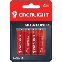 Батарейки Enerlight Alkaline Mega Power AA LR6 1,5v 4шт